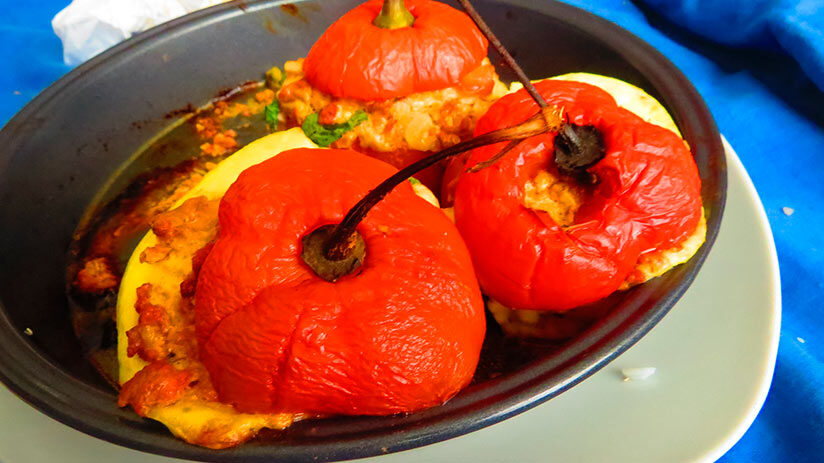 rocoto relleno traditional peruvian food