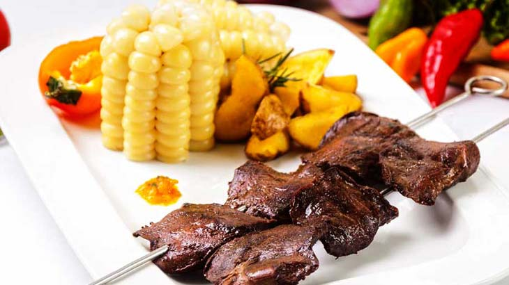 anticuchos peruvian traditional food