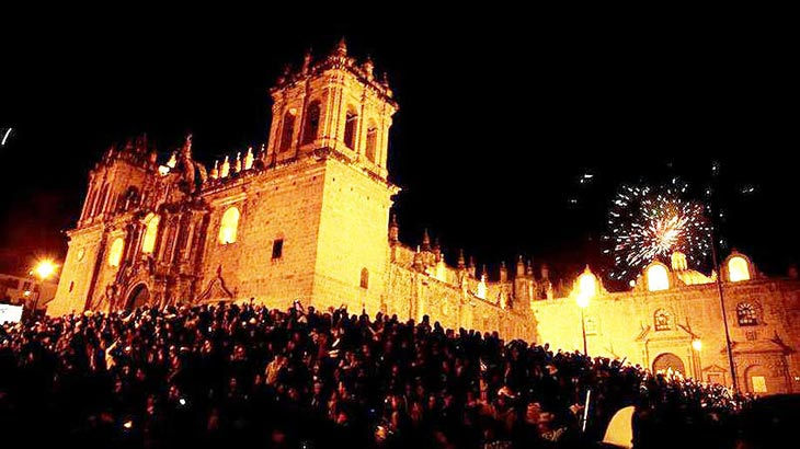 Celebrating New Years Eve in Cusco