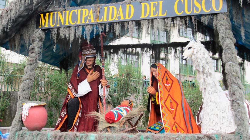 Christmas in Cusco festivals in peru