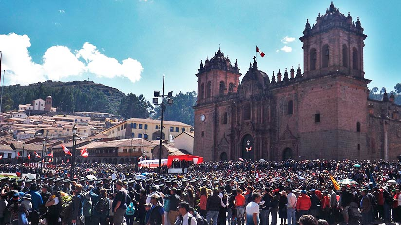 festivals in cusco independence day