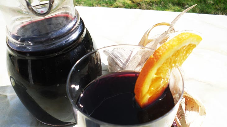 peruvian drinks chicha morada