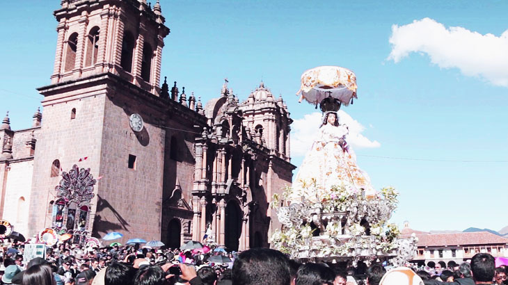 remarkable religious festival in cusco