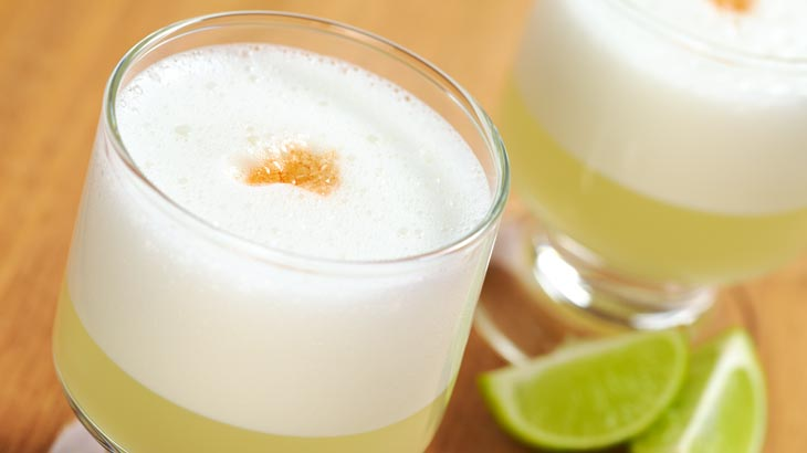 peruvian drinks pisco sour