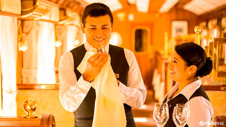 hiram bingham train gourmet dining