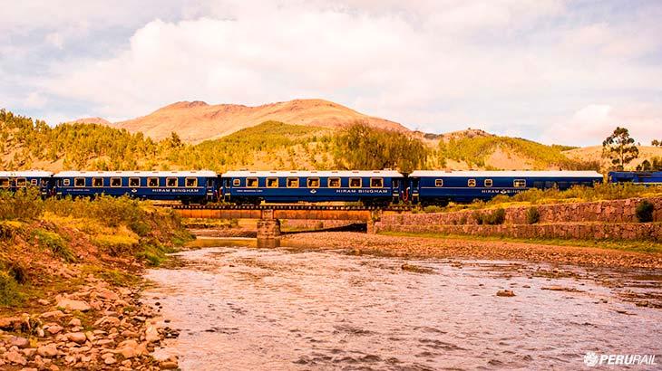 hiram bingham train scenery