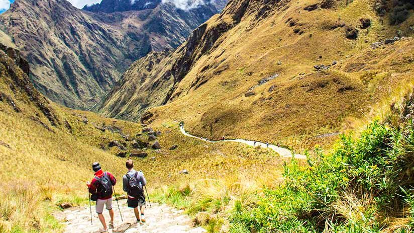 visiting machu picchu inca trail