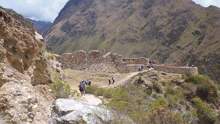 first day of adventure on the Inca Trail