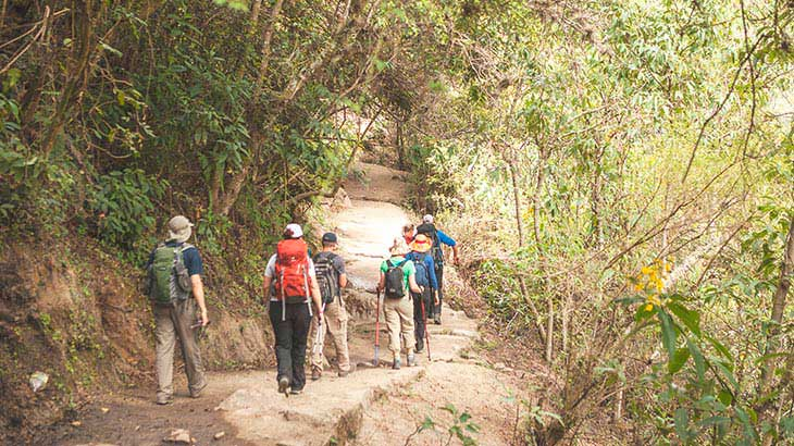 adventure trek on the inca trail