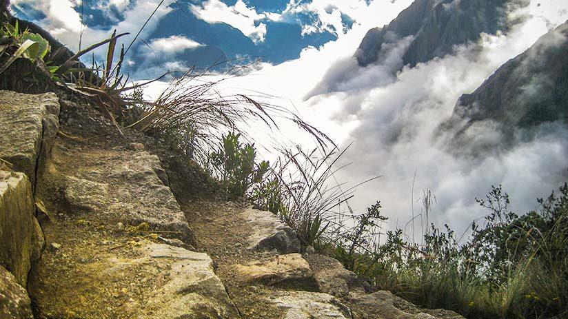 visiting machu picchu stick to the paths