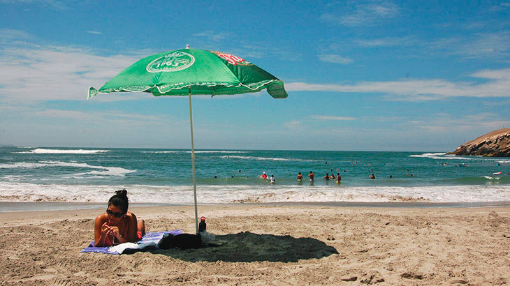 Lima's beaches offer waves all year round, for all levels of surfers