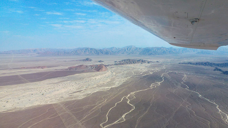 Fly over the lines of nazca to appreciate the mystery