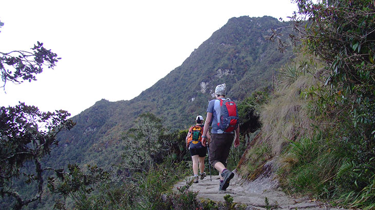 Adventure travel on the inca trail