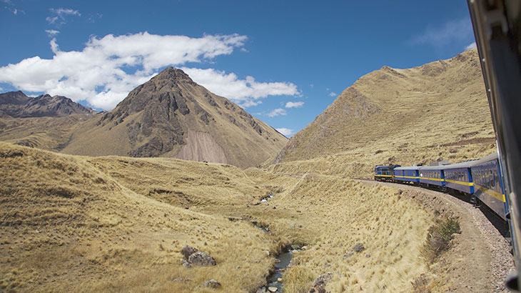 from machu picchu to lake titicaca by train