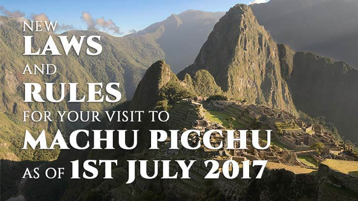 new entrance rules for visit machu picchu