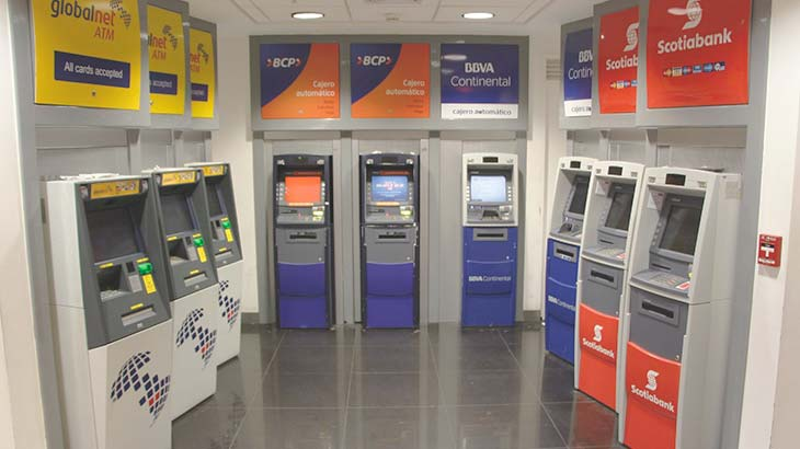 atm machines in peru