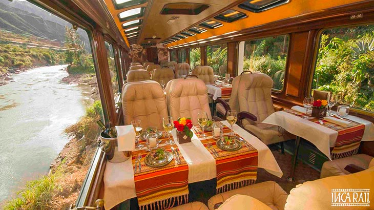 inca rail first class train