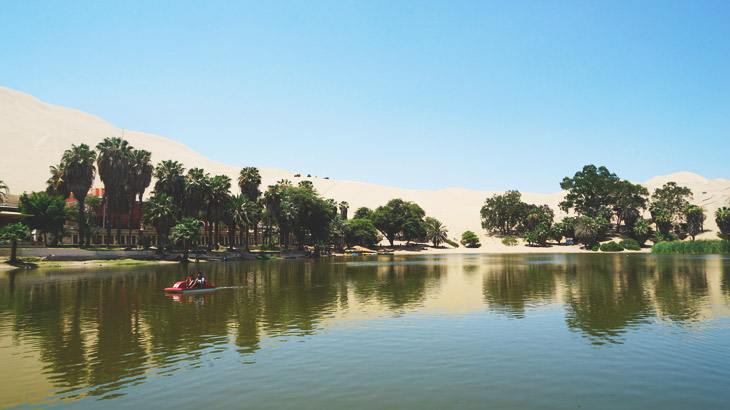 oasis huacachina lagoon ica