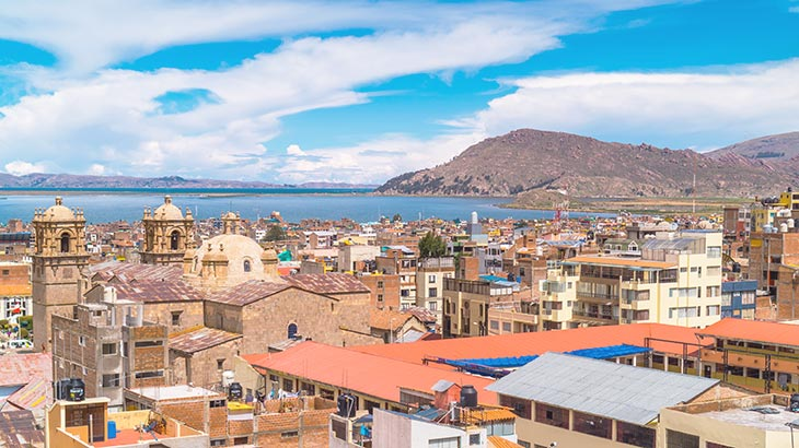 puno city lake titicaca