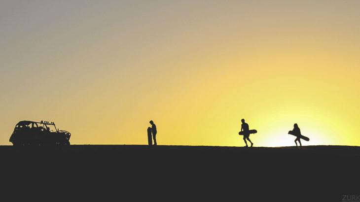 sunset huacachina ica
