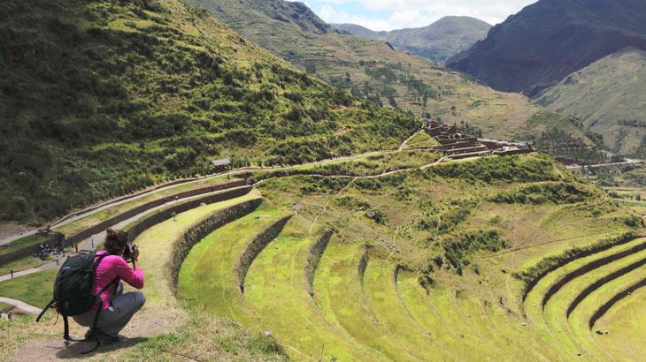 traveling alone in a hike to Machu Picchu