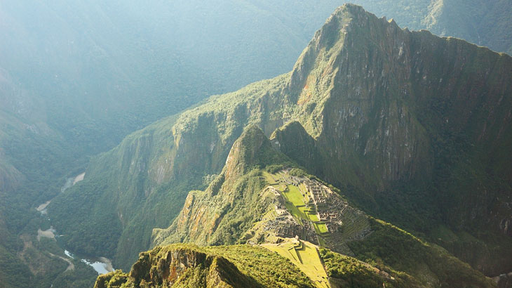 machu picchu located