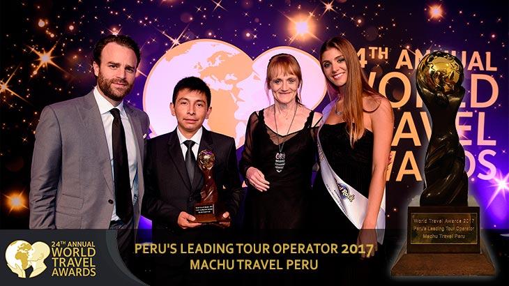 peru leading tour operator 2017 winner machu travel peru