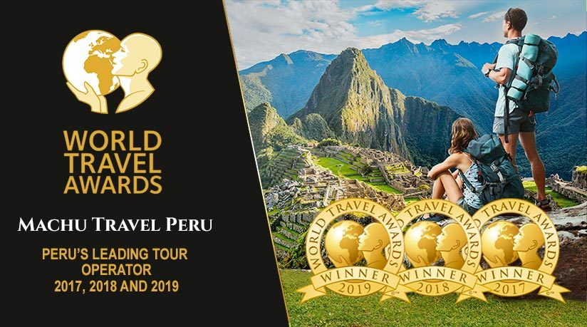 peru leading tour operator 2017, 2018 and 2019