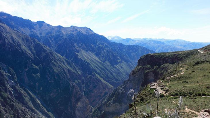 peru colca canyon trekking