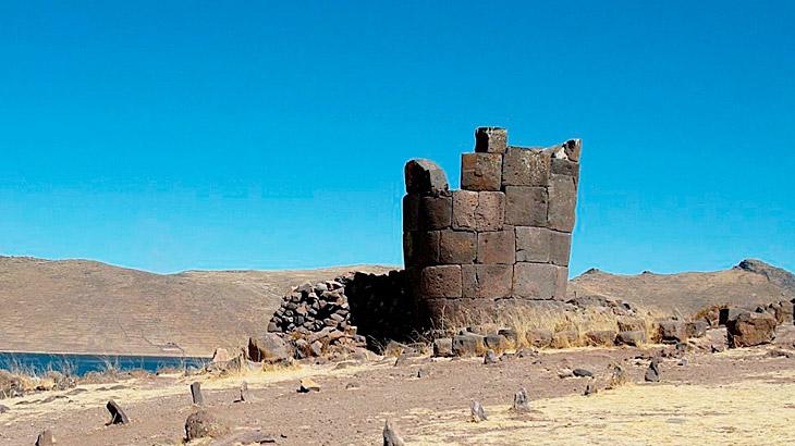 sillustabi in lake titicaca, peru history