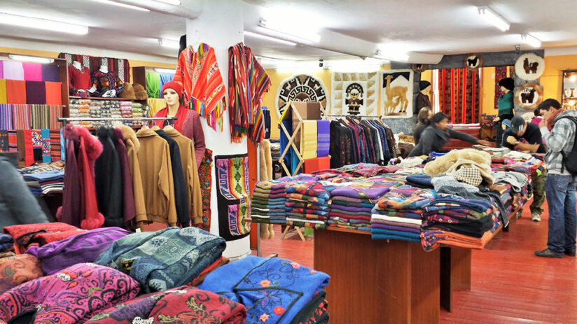 souvenirs to buy in machu picchu alpaca clothing