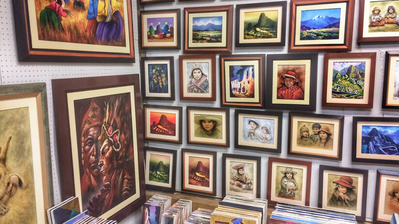 souvenirs to buy in machu picchu art