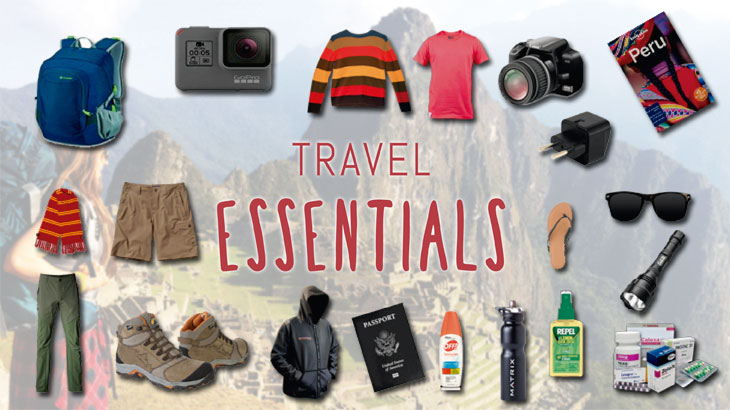 travel essentials visiting peru
