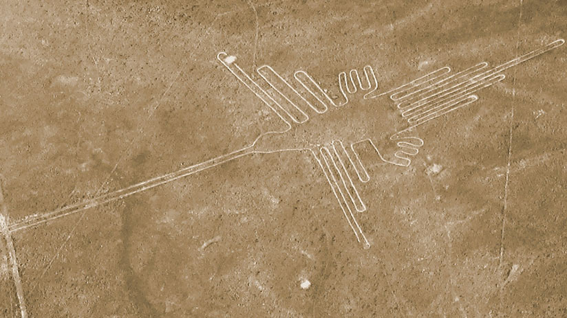 best way to see nazca lines hummingbird