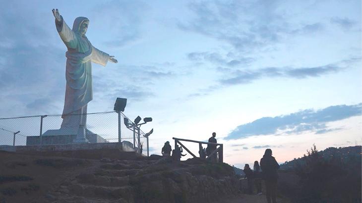 cristo blanco cusco peru tourism