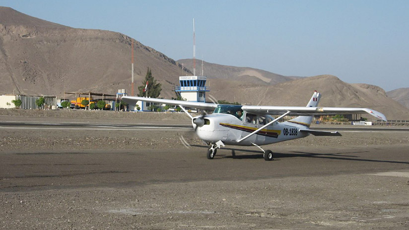 plane best way to see nazca lines