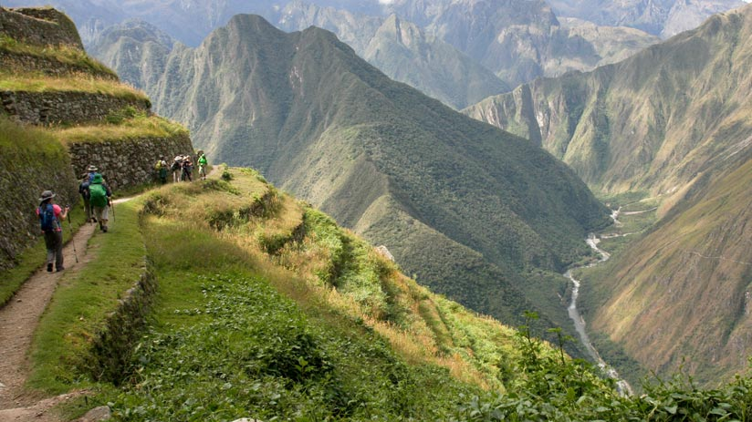 inca trail tours hiking