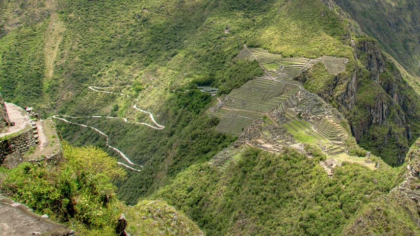 inca trail tours road system