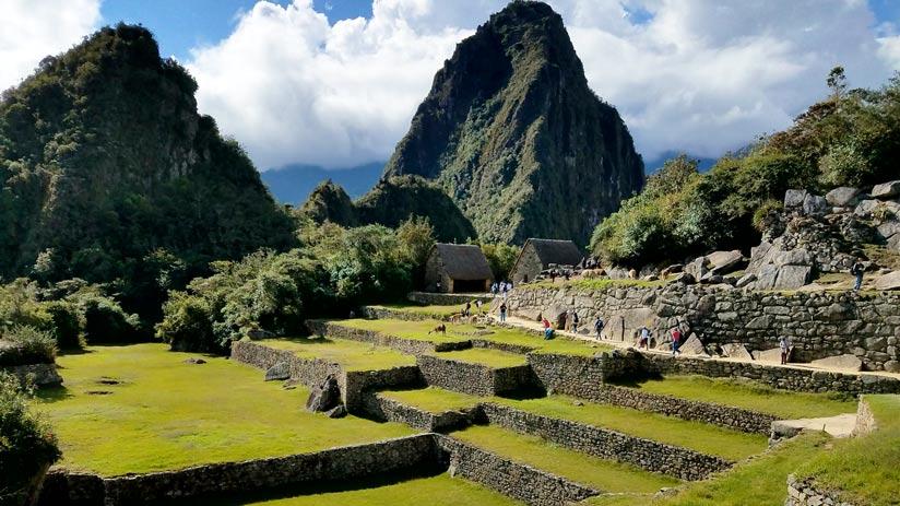 machu picchu fortress peru tourism