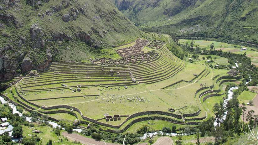 machu picchu inca trail sacred valley