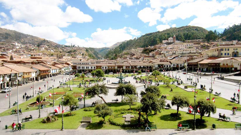 walking tour main square cusco