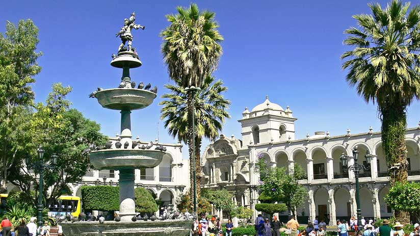 restaurants in city of arequipa