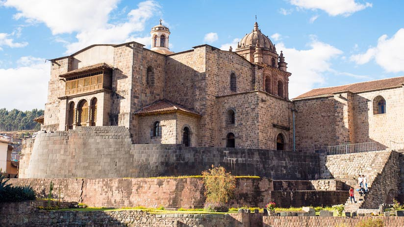 santo domingo cusco peru travel