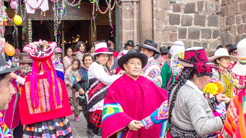 tours cusco carnivals