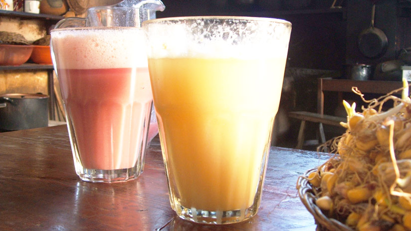 tours in cusco frutillada drink