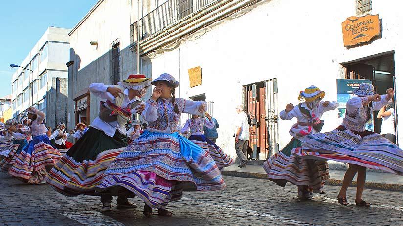 visit arequipa festivities peru