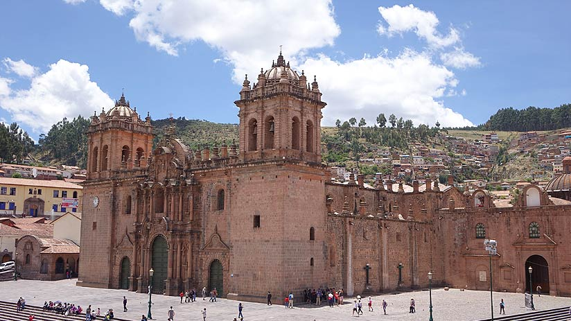 cathedral cusco city