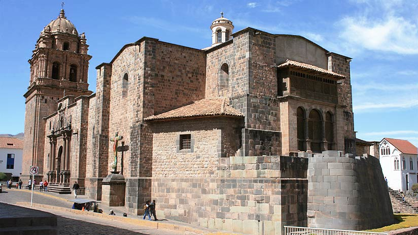 cusco city santo domingo church