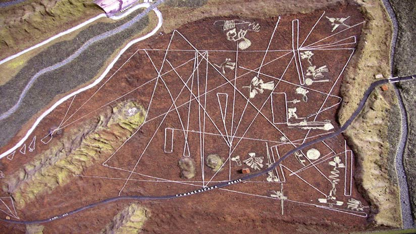 how were the nazca lines made panoramic