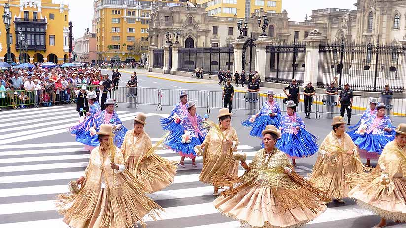 best time to travel peru lima festivities